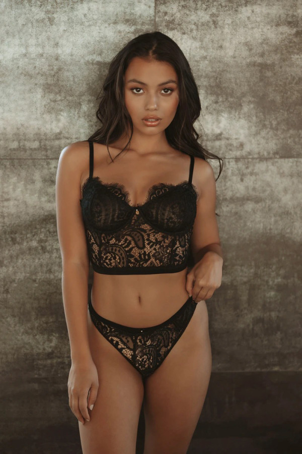 Sexy Lace Underwear Set YQ-417