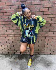 Plus Size Fashion Casual Pullover Print Sweatshirt YNB-7140