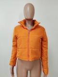 Plus Size Winter Warm Full Sleeve Zipper Coat LSD-9030