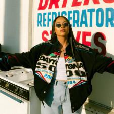 Plus Size Fashion Printed Long Sleeve Jacket YMF-3516
