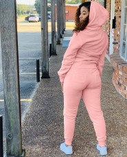 Casual Hoodies Two Piece Pants Set YSU-8053