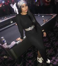 Sexy Long Sleeve Split Slim Fit Maxi Dress Without Belt OMY-5056