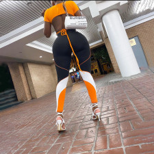 High Waist Casual Fitness Pants WTF-9059