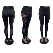 Casual Printed Leggings Tight Pants BLI-2220