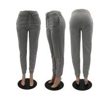 Gray Casual Fashion Sweatpants YMF-3522