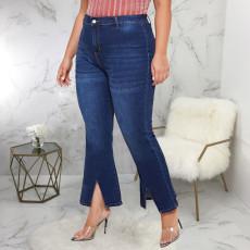 Plus Size 5XL Denim Stretch Fat MM Jeans HSF-2387