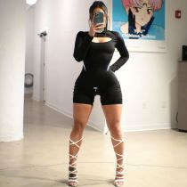 Sexy Long Sleeve Tight Rompers ZNF-8016
