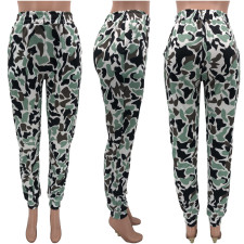 Fashion Street Camouflage Print Casual Pants KYF-3050