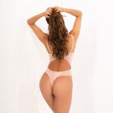 Sexy Lace Backless Bodysuit Teddy Lingerie MDNF-10454