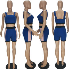 Casual Vest Top And Shorts Two Piece Suits QMF-7022