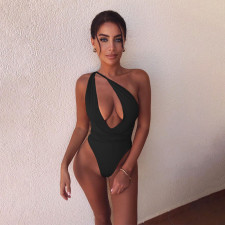 Sexy Hollow Out One Piece Swimsuit QSF-5055