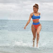 Fashion Sexy Swimsuit Two Piece Set RSN-794
