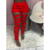 Fashion Sexy Solid Color Pants MTY-6509