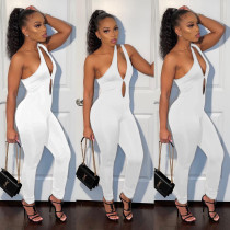 Sexy One Shoulder Hollow Out Jumpsuits CYAO-8075