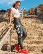 Letter Print Fitness Leggings Skinny Pants ZNF-8029