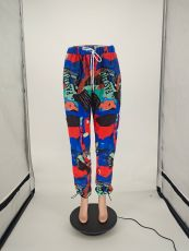 Casual Print Long Pants NLAF-6034