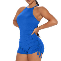 Summer Fashion Solid Color Sleeveless Rompers ME-S848