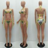 Sexy Lace-Up Bikinis Two Piece Sets MAE-2102