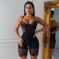 Fashion Corset Sling Lace Sexy Rompers OSM-5250