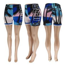 Casual Printed Beach Shorts WSYF-5886