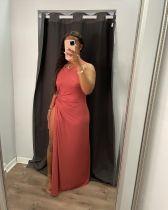 Sexy Solid Sleeveless High Split Maxi Dress AIBF-6657