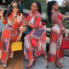 Fashion Casual Print Long Shirts GLF-10023