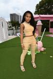 Fashion Casual Striped Print Slim Sleeveless Suit ML-7453