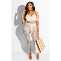 Sexy Solid Color Two Piece Sets ASL-6172