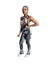 Printed Sexy Backless Jumpsuits DFNA-YZ5205