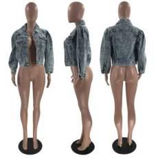 Fashion Denim Short Jacket MOF-6640