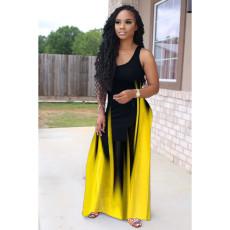 Sexy Sleeveless Maxi Dress MWDF-8313