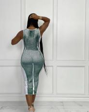Sexy Sleeveless Slim Midi Dress LS-0361