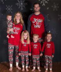 Christmas Matching Clothes Parent-Child Pajamas Suits QYF-9002