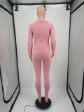 Casual Long Sleeve Two Piece Pants Set YIM-219