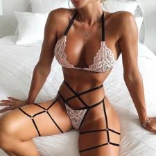 Sexy See-through Lace Underwear Set YQ-S193