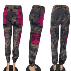 Fashion Casual Camouflage Print Pants NYMF-K02