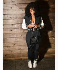 Casual Baseball Jacket And Pants 2 Piece Suits WSM-5288