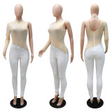 Fashion Sexy Hot Rhinestone Tight Jumpsuits CYA-9279