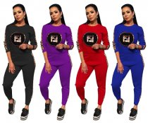 Casual Tracksuit Two Piece Set TR-888