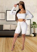 Sexy Tracksuit Bodycon 2 Piece Set YSF-255
