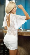 Lace Perspective Deep V FlashLift DS Costumes FQQ-0215