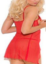 Red Lace Dew Chest  Lingerie FQQ-0014