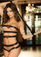 Black Dew Chest Binding Lingerie FQQ-1009