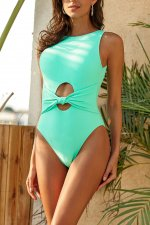 Sexy Sleeveless Bathing Suit One Piece Swimsuit MJ-2072