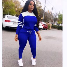 Casual Hoodies Tracksuit Two Piece Sets YN-067
