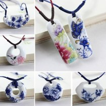 Chinese Style Ethnic Jewelry Traditional Handmade Ornaments Long Necklace