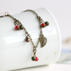 Handmade Ceramic Anklets Retro Jewelry