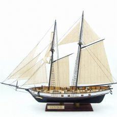 1:130 Scale Sailboat Model 380x130x270mm DIY Ship Assembly Model Kits Classical Handmade Wooden Sailing Boats