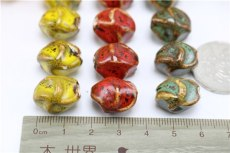 Flower Shaped Beads Dumpling Materials Manual Accessories Jewelry DIY Material