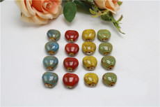 Love Beads Flower Drum Love Red Yellow Green Sweater Chain DIY Material Bracelet Accessories
